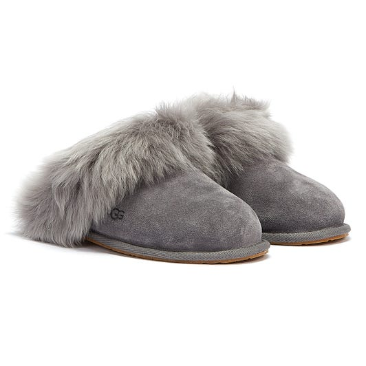 UGG Scuff Sis Womens Charcoal Slippers