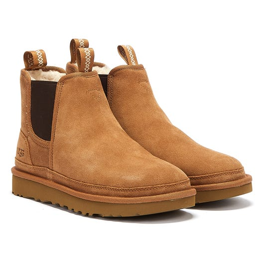 UGG Neumel Chelsea Womens Brown Boots