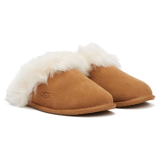 UGG Scuff Sis Womens Chestnut Slippers