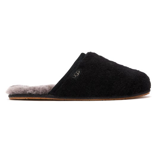UGG Fluffette Womens Black Slippers
