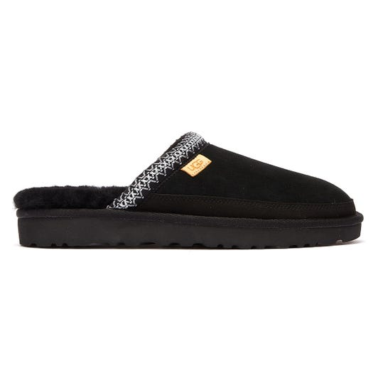 UGG Tasman Slip On Mens Black Slippers