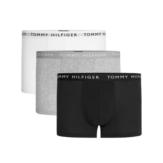 Tommy Hilfiger 3 Pack Recycled Essential Mens Grey Boxer Shorts