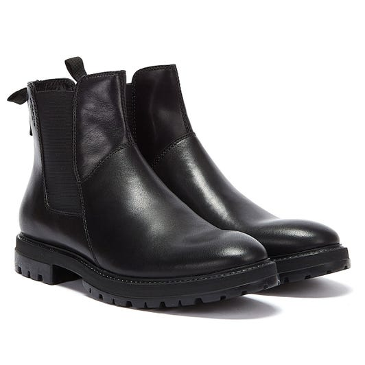 Vagabond Johnny Chelsea Mens Black Boots