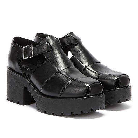 Vagabond Dioon Womens Black Heels