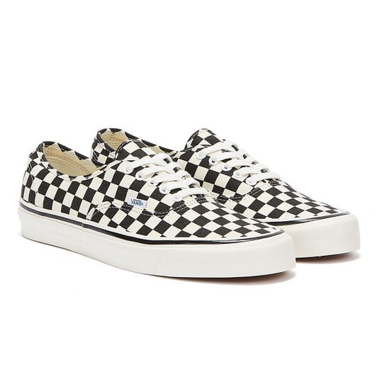 Vans Anaheim Factory Authentic 44 DX Black Checkerboard Trainers