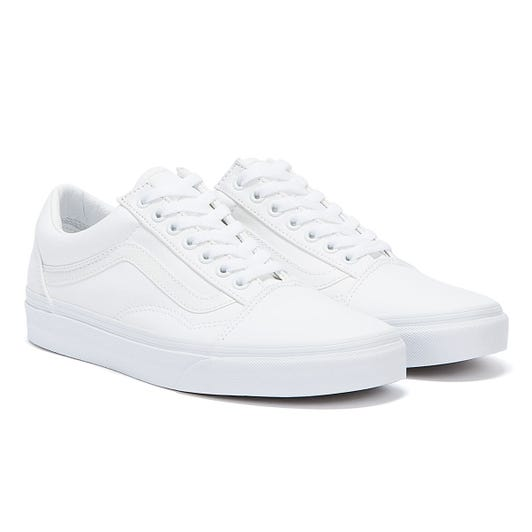 Vans True White Old Skool Canvas Trainers