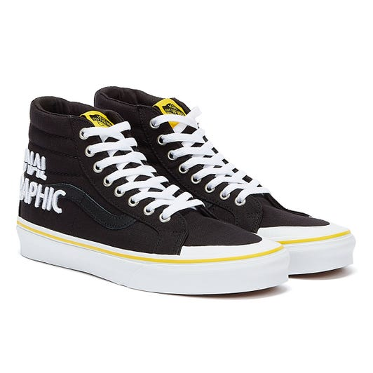 Vans National Geographic Logo SK8-Hi Reissue Trainers