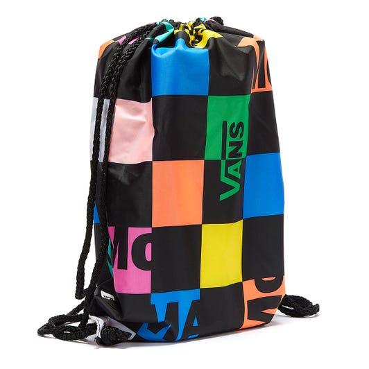 Vans x MoMA Branded Black Drawstring Bag