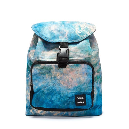 Vans x MoMa Monet Blue / Pink Backpack
