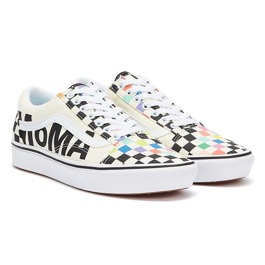 Vans x MoMa Branded Comfycush Old Skool White / Multi Trainers