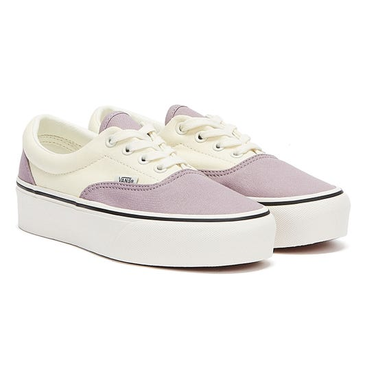 Vans Era Platform 2-Tone Womens Purple / White Trainers