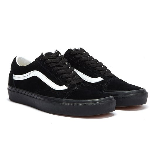 Vans Old Skool Pig Suede Black / Black Trainers