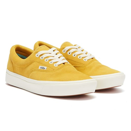 Vans Era Comfycush Suede Mens Gold / White Trainers