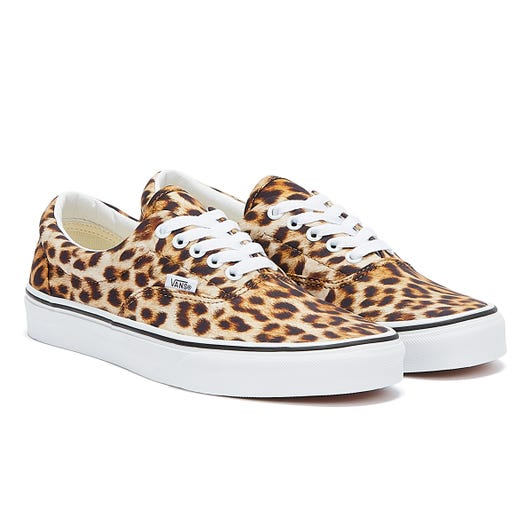 Vans Era Leopard Womens Black / White Trainers