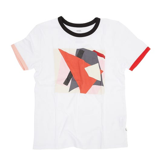 Vans x MoMA Popova Short Sleeve Womens White T-shirt