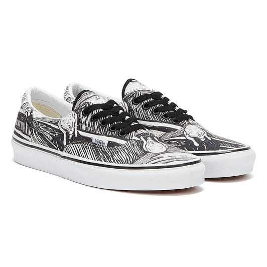 Vans x MoMA Munch Era White / Black Trainers