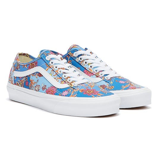 Vans x Liberty Old Skool Tapered Paisley Womens Blue / Multi Trainers