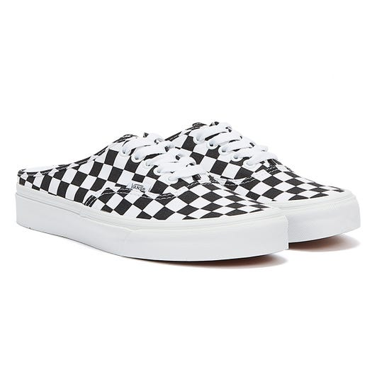 Vans Authentic Mule Check Womens Black / White Trainers