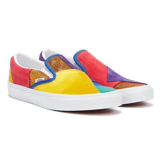Vans Pride Classic Slip On Womens Patch / White Trainers