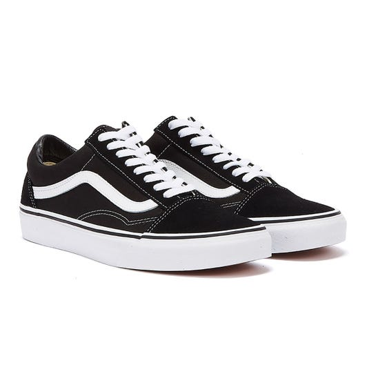 Vans Old Skool Black Canvas Trainers