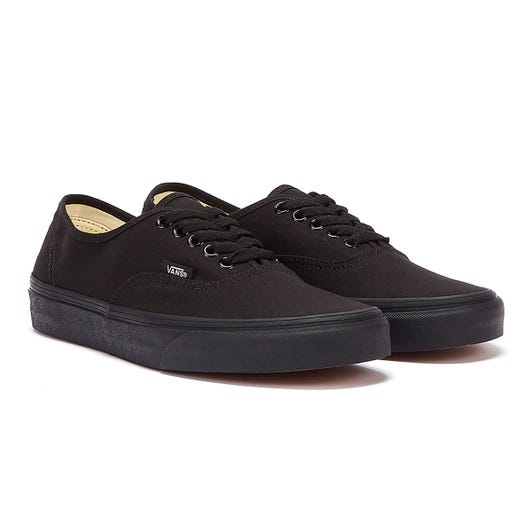 Vans Authentic Canvas True Black Trainers