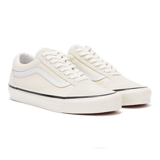Vans Anaheim Factory Old Skool 36 DX Classic White Trainers
