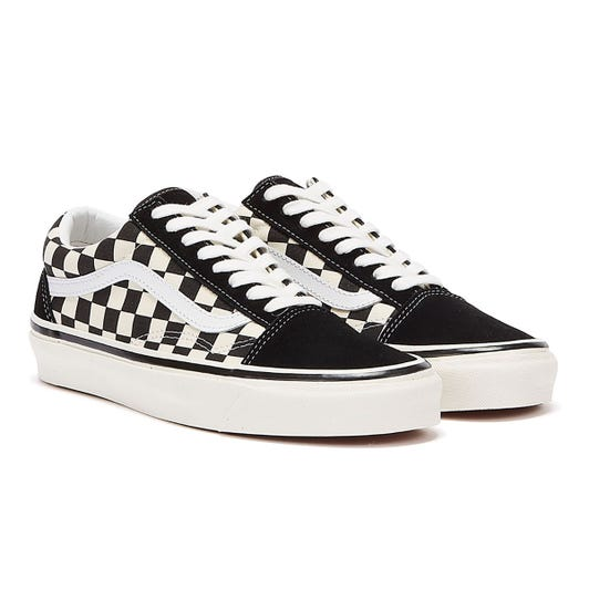 Vans Anaheim Factory Old Skool 36 DX Black Checkerboard Trainers