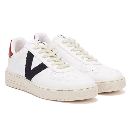 Victoria Siempre Contrast Vegan Womens White / Navy Trainers