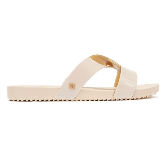Zaxy Reflect Womens Ivory Sandals