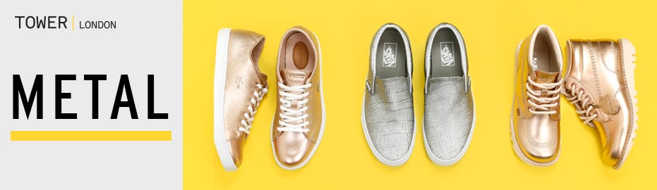 Shop Metallic Shoes
