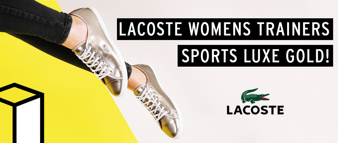 Womens Lacoste Trainers