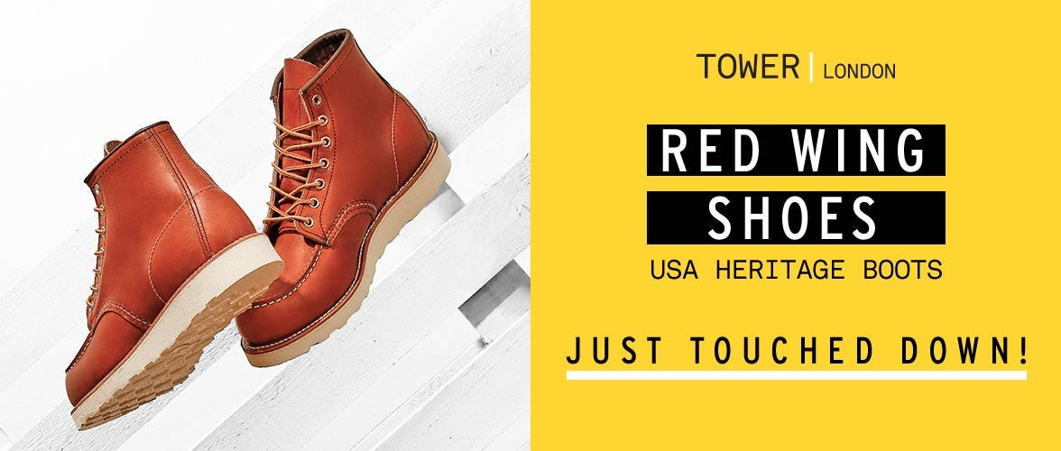 Red Wing Shoes USA Heritage Boots Just Landed!