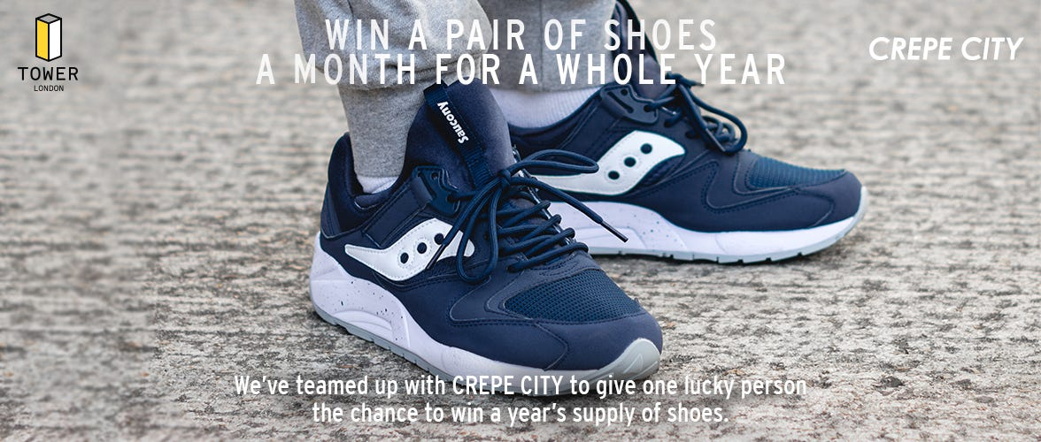 WIN A PAIR OF SHOES A MONTH FOR A YEAR