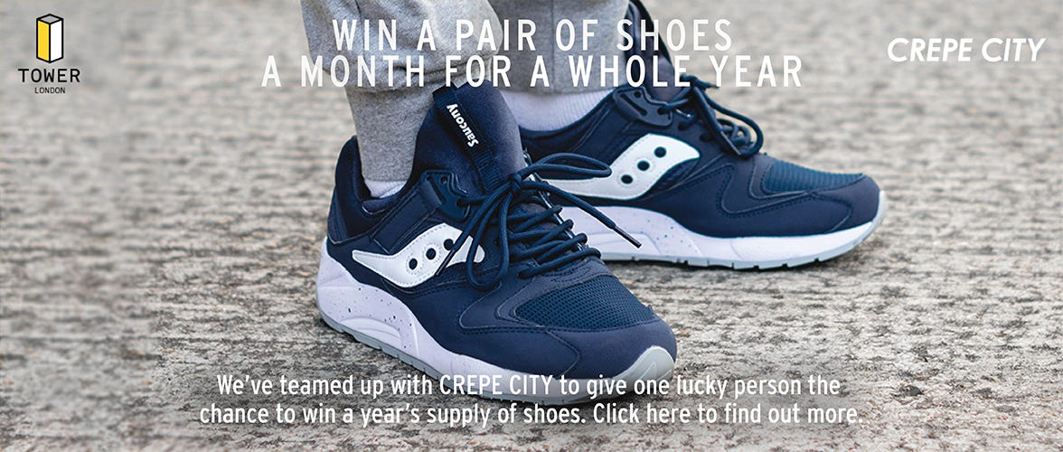 WIN A PAIR OF SHOES A MONTH FOR A WHOLE YEAR