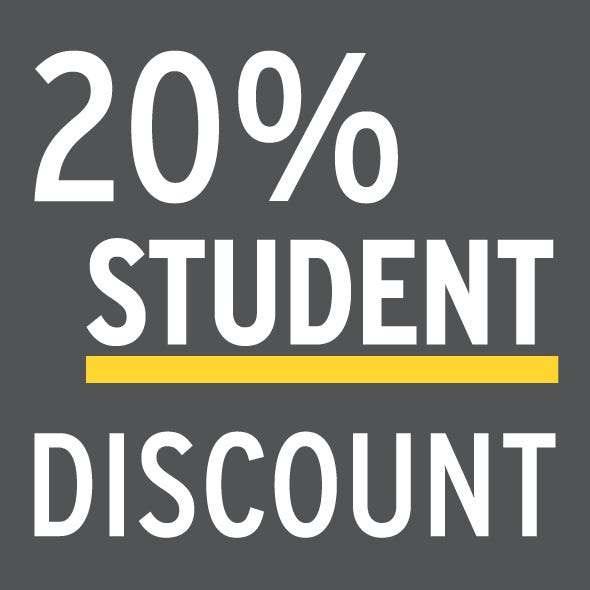 25% Student Discount with UNiDAYS