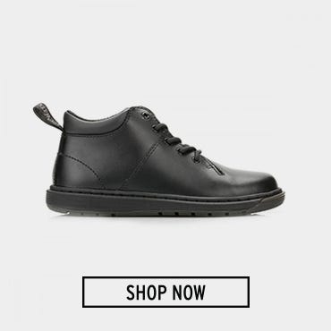 Dr. Martens Junior Black Parker J Monkey Boots