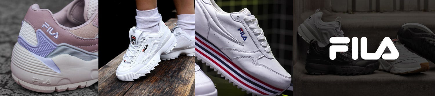 Shop Fila - Mens and Womens shoes at Tower London