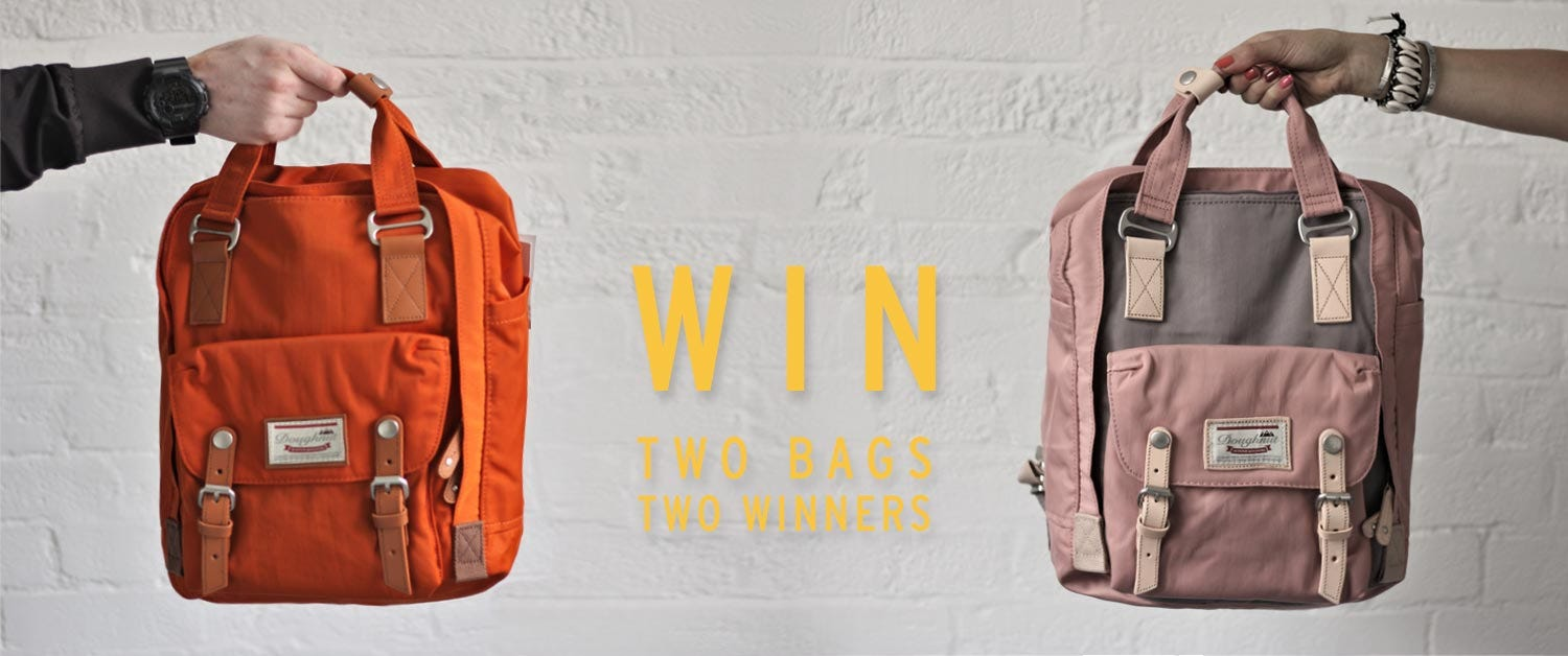 Win two Doughnut Bags