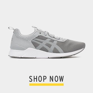 ASICS Mens Grey Gel-Lyte Runner Trainers